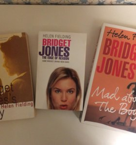 Книги о Бриджит Джонс на английском языке