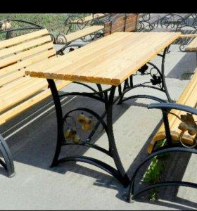 Мебель для сада из металла на заказ