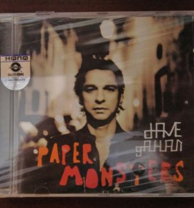 Dave Gahan - Paper Monsters (2003) CD