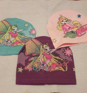 Оптом, детские весенние шапочки,дёшево.