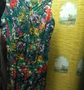 Платье яркое 54-56 р