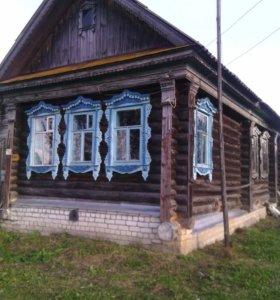 Деревянный дом в селе Селякино