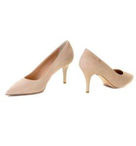 Бежевые туфли 👠 fabiani