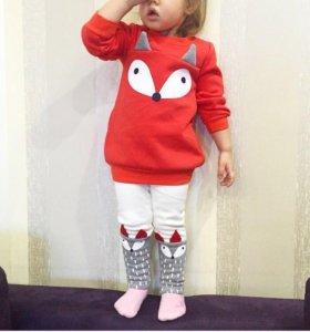 Детский костюм Лисичка(новый)