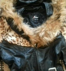 Куртка новая,кожа.