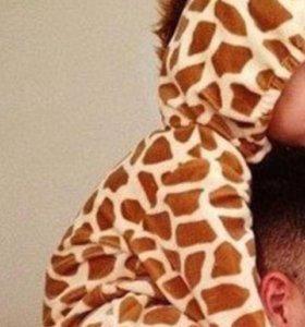 Кигуруми на малыша (жираф)