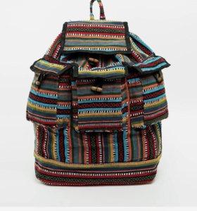 Хипстерский рюкзак Reclaimed Vintage