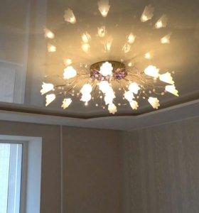 Ремонт галогенных и светодиодных люстр на пультеДУ