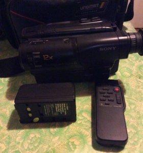 Видеокамера сони касетная