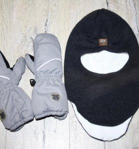 Шапка-шлем и краги