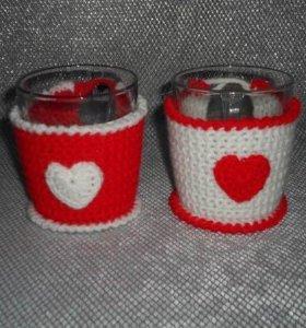 14 февраля - кружки для влюбленных в одежке