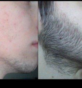 Рост бороды и волос