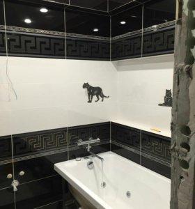 Ванна туалет ремонт