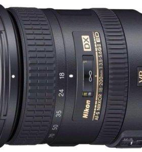 Nikon d7000 и объектив 18-200