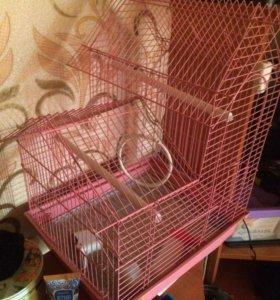Клетка для попугаев!