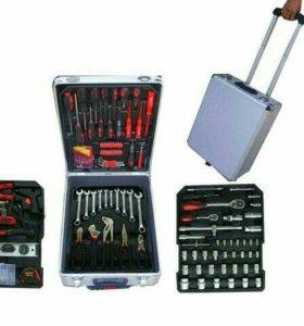 Набор инструментов в чемодане Super&Power 186 элем