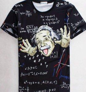 """Футболка """"Альберт Эйнштейн"""""""