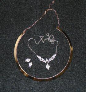 Ожерелья бижутерич