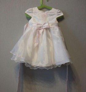 Платье нарядное 2 года
