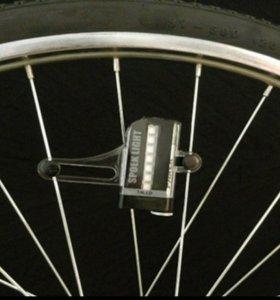 Велоспорт колеса сигнал шины свет 14LED