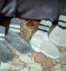 Шерстяные новые носочки