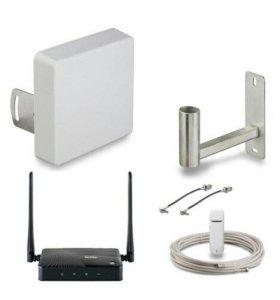 Комплект 3G/4G интернета с Wi-Fi роутером KDI15