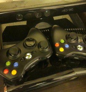 Xbox 360 + kinect +6 игр