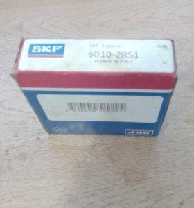 Подшипники 2 шт 6010-2RS1