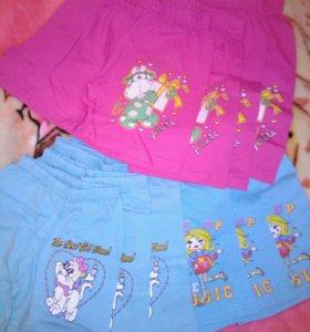 Новые шорты на девочек