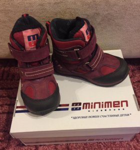 Детские ботинки minimen 23 размер