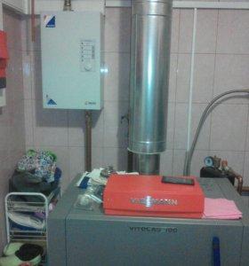 Монтаж отопление и водоснабжения