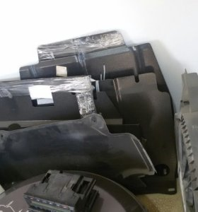 зашита двигателя  мерс w210-202