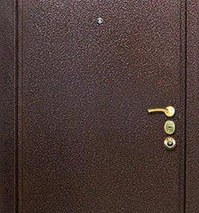 Двери металлические, входные.