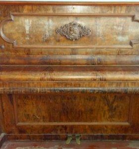 Пианино R. bachrodt, leipzig