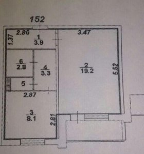 Продаю 1комнатную квартиру