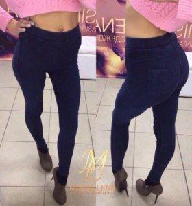 Лосины из джинсовой ткани