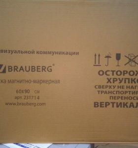 Доска магнитно-маркерная BRAUBERG 60*90 см