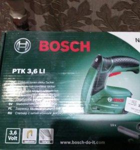 Степлер (аккумуляторный скобозабиватель) Bosch