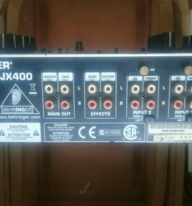 Микшер ди джейский Behringer pro mixer dgx 400