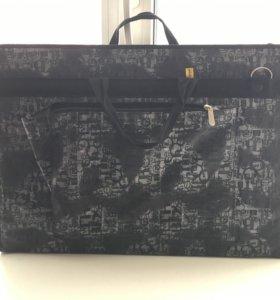 сумка для переноски холстов,для художников.