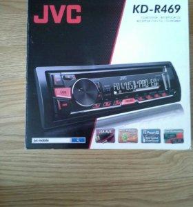 Автомагнитола JVC KD-R469