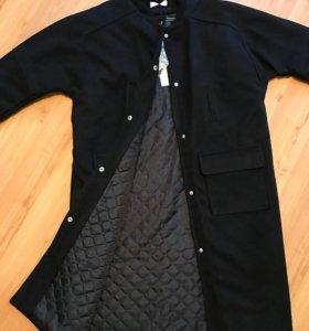 Новое шерстяное пальто. Весна-осень