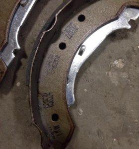 Колодки тормозные задние для Renault TRW GS8534