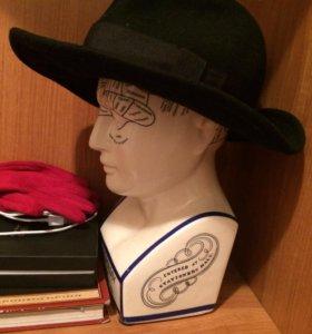 Женская шерстяная шляпа