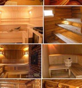Строительство и отделка бань,саун,бассейнов