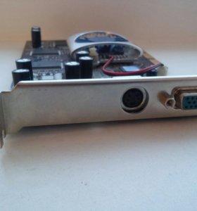 Видеокарта Ge Force MX440 8x 64M DDR TV