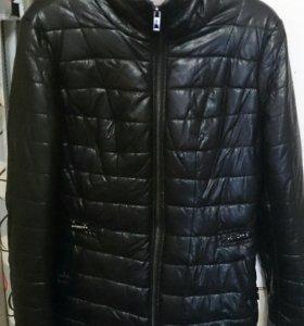 Новая курточка из экокожи