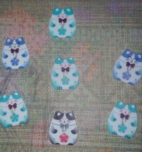 Набор декоративных пуговиц