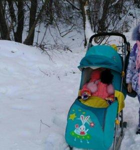 Детские санки-коляска...