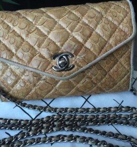 Сумочка Chanel питон